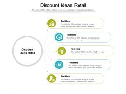Discount Ideas Retail Ppt Powerpoint Presentation Outline Graphics Cpb