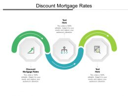 Discount Mortgage Rates Ppt Powerpoint Presentation Professional Icons Cpb