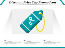 Discount Price Tag Promo Icon