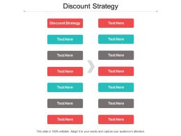 Discount Strategy Ppt Powerpoint Presentation File Icon Cpb