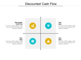 Discounted Cash Flow Ppt Powerpoint Presentation Ideas Clipart Cpb