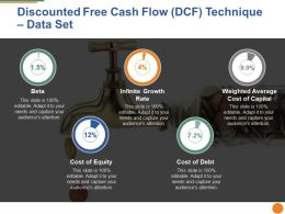 Discounted Free Cash Flow Ppt Pictures Graphics Tutorials