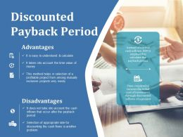 Discounted Payback Period Ppt Ideas