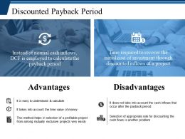 Discounted Payback Period Ppt Show