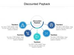 discounted payback ppt powerpoint presentation slides graphics design cpb