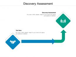 Discovery Assessment Ppt Powerpoint Presentation Inspiration Cpb