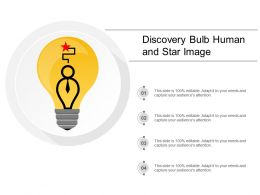 Discovery Bulb Human And Star Image