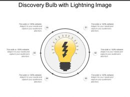 Discovery Bulb With Lightning Image