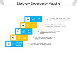Discovery Dependency Mapping Ppt Powerpoint Presentation Model Gridlines Cpb
