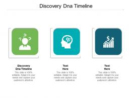 Discovery Dna Timeline Ppt PowerPoint Presentation Slides Picture Cpb