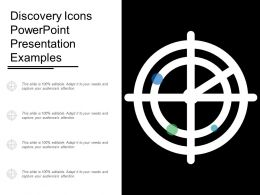 Discovery Icons Powerpoint Presentation Examples