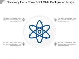 Discovery Icons Powerpoint Slide Background Image