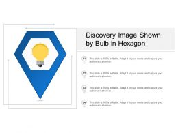 Discovery Image Shown By Bulb In Hexagon