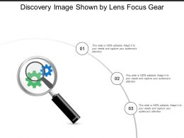 Discovery Image Shown By Lens Focus Gear