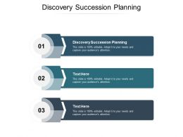 Discovery Succession Planning Ppt Powerpoint Presentation Portfolio Graphics Tutorials Cpb