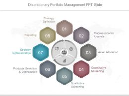 Discretionary Portfolio Management Ppt Slide