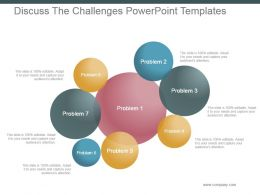 Discuss The Challenges Powerpoint Templates