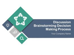 discussion_brainstorming_decision_making_process_complete_powerpoint_deck_with_slides_Slide01