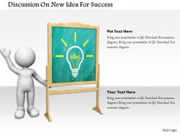 discussion_on_new_idea_for_success_ppt_graphics_icons_Slide01