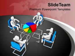 Discussion On Statistical Business PowerPoint Templates PPT Themes And Graphics 0213