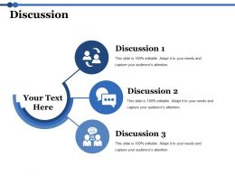 Discussion Ppt Diagrams