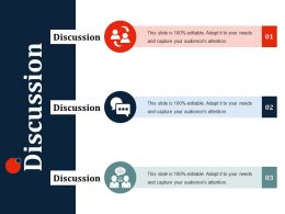 Discussion Ppt Slides Show