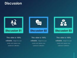Discussion Ppt Visual Aids Styles