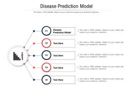 Disease Prediction Model Ppt Powerpoint Presentation Inspiration Layout Ideas Cpb
