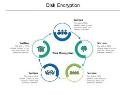 Disk Encryption Ppt Powerpoint Presentation Inspiration Diagrams Cpb