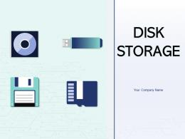 Disk Storage Device Magnetic Removable Secondary