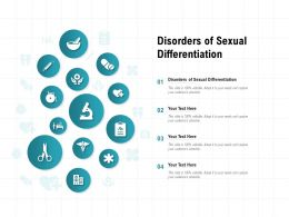 Disorders Of Sexual Differentiation Ppt Powerpoint Presentation Pictures Visual Aids