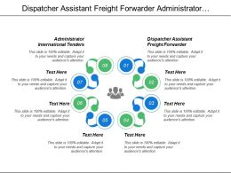 Dispatcher Assistant Freight Forwarder Administrator International Tenders Sales Representative