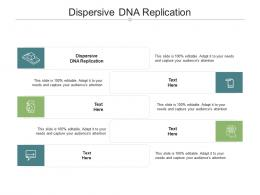 Dispersive DNA Replication Ppt Powerpoint Presentation Infographics Inspiration Cpb