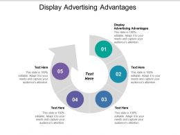 Display Advertising Advantages Ppt Powerpoint Presentation Gallery Slides Cpb