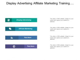 Display Advertising Affiliate Marketing Training Compensation Program Growth Patterns