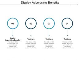 Display Advertising Benefits Ppt Powerpoint Presentation File Show Cpb