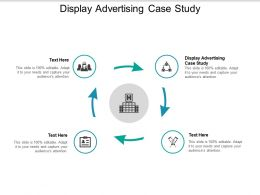 Display Advertising Case Study Ppt Powerpoint Presentation Gallery Templates Cpb
