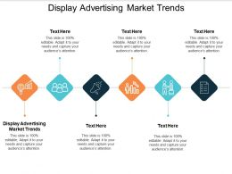 Display Advertising Market Trends Ppt Powerpoint Presentation Gallery Deck Cpb