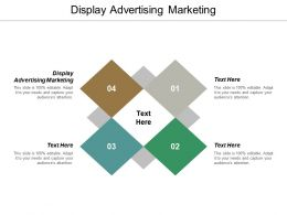 Display Advertising Marketing Ppt Powerpoint Presentation Portfolio Example Cpb