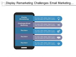 Display Remarketing Challenges Email Marketing Email Marketing Scenarios Cpb
