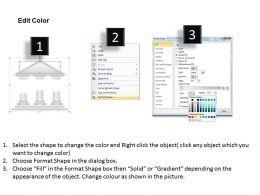 28905052 Style Essentials 1 Our Vision 3 Piece Powerpoint Presentation Diagram Infographic Slide