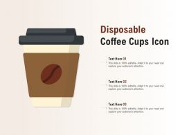 Disposable Coffee Cups Icon