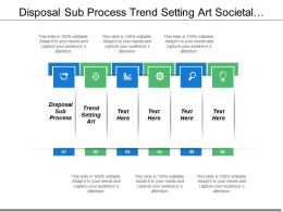 Disposal Sub Process Trend Setting Art Societal Impact