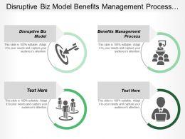 Disruptive Biz Model Benefits Management Process Delivering Benefits