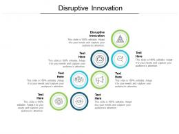 Disruptive Innovationcpb Ppt Powerpoint Presentation Outline Structure Cpb
