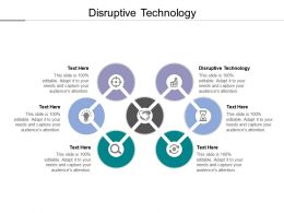 Disruptive Technology Ppt Powerpoint Presentation Layouts Infographics Cpb