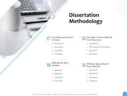 Dissertation Methodology Ppt Powerpoint Presentation Gallery Clipart