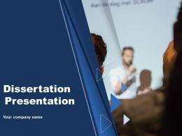 Dissertation Presentation Powerpoint Presentation Slides