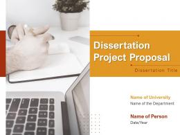 Dissertation Project Proposal Powerpoint Presentation Slides