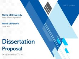 Dissertation Proposal Powerpoint Presentation Slides